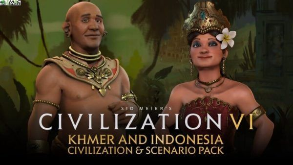 Sid Meiers Civilization VI Khmer and Indonesia Civilization and Scenario Pack Free Download